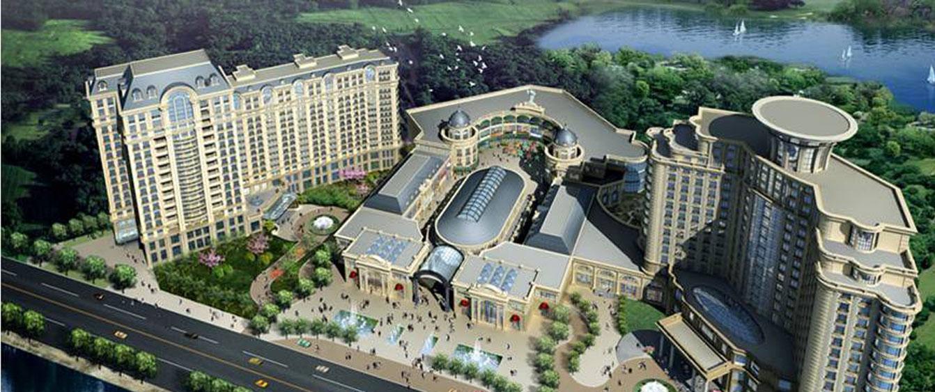 Tianjin Yingbin Plaza project