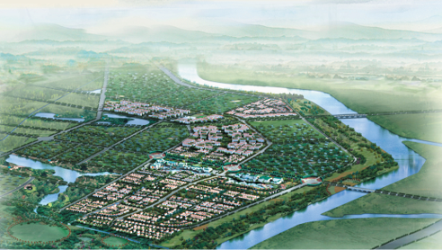 Eco-corridor project in Wenyuhe, Shunyi, Beijing